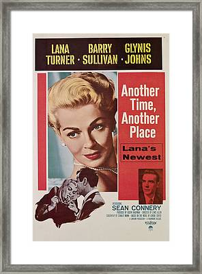 Another Time, Another Place, Top, Lana Framed Print