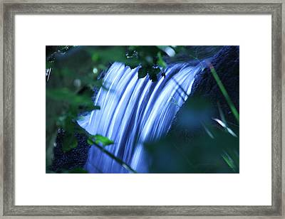 Another Waterfall Framed Print