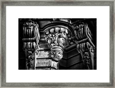 Ansonia Building Detail 12 Framed Print by Val Black Russian Tourchin