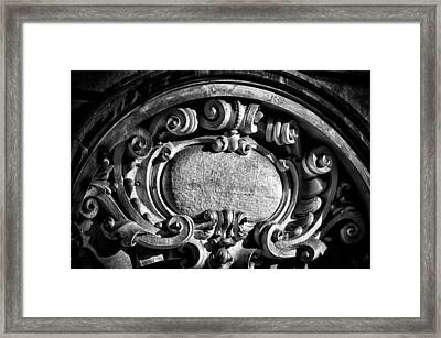 Ansonia Building Detail 14 Framed Print by Val Black Russian Tourchin