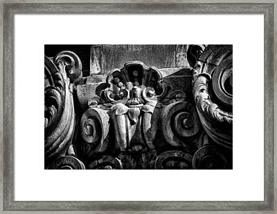 Ansonia Building Detail 15 Framed Print by Val Black Russian Tourchin