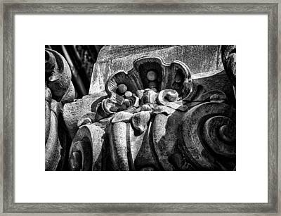 Ansonia Building Detail 16 Framed Print by Val Black Russian Tourchin