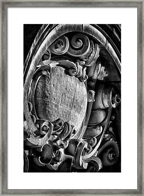 Ansonia Building Detail 17 Framed Print by Val Black Russian Tourchin