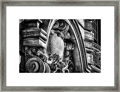 Ansonia Building Detail 19 Framed Print by Val Black Russian Tourchin
