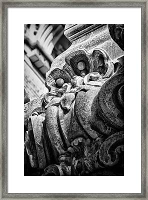 Ansonia Building Detail 22 Framed Print by Val Black Russian Tourchin