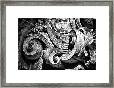 Ansonia Building Detail 23 Framed Print by Val Black Russian Tourchin