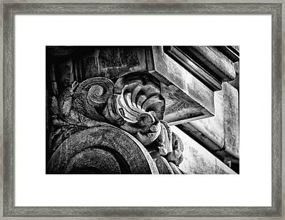 Ansonia Building Detail 24 Framed Print by Val Black Russian Tourchin
