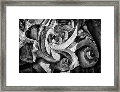 Ansonia Building Detail 25 Framed Print by Val Black Russian Tourchin