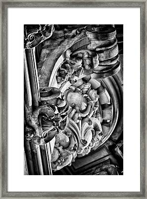 Ansonia Building Detail 26 Framed Print by Val Black Russian Tourchin