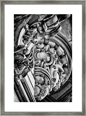 Ansonia Building Detail 28 Framed Print by Val Black Russian Tourchin