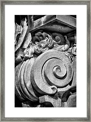 Ansonia Building Detail 29 Framed Print by Val Black Russian Tourchin