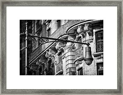 Ansonia Building Detail 34 Framed Print by Val Black Russian Tourchin