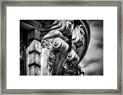 Ansonia Building Detail 38 Framed Print by Val Black Russian Tourchin