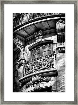 Ansonia Building Detail 43 Framed Print by Val Black Russian Tourchin