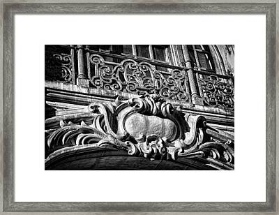 Ansonia Building Detail 5 Framed Print by Val Black Russian Tourchin