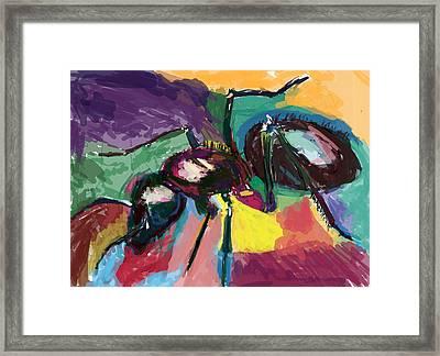 Ant Helen Framed Print