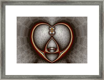 Ant Framed Print by Mark Eggleston