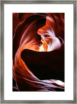 Antelope Canyon Framed Print by Itay Gal