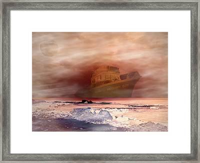 Anthony Boy's Magical Voyage Framed Print