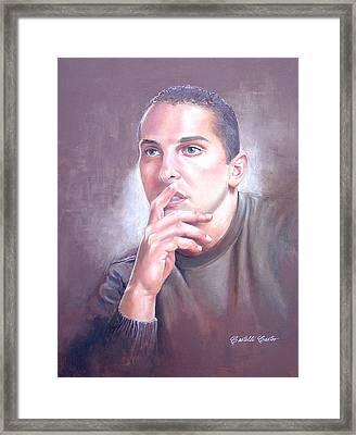 Anthony Frizano Framed Print by JoAnne Castelli-Castor