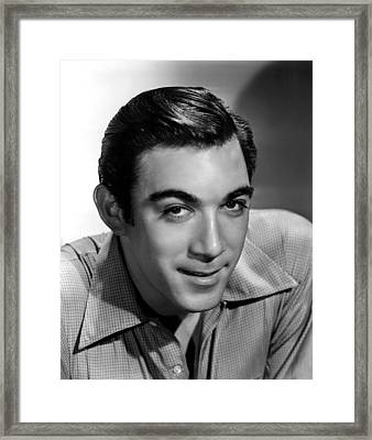 Anthony Quinn, 20th Century-fox, 1940s Framed Print by Everett