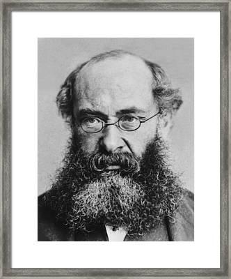 Anthony Trollope 1815-1882 English Framed Print by Everett