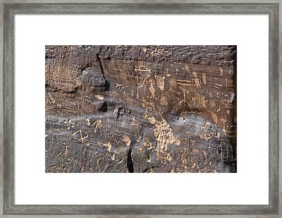 Anthropomorphic, Zoomorphic Framed Print by Rich Reid