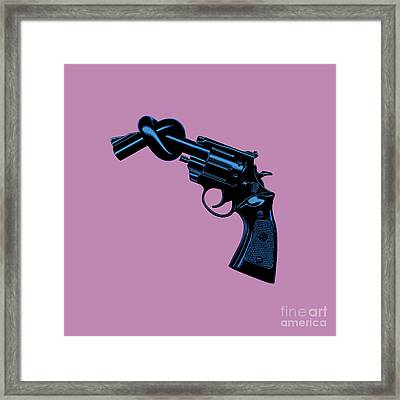 Anti Gun Framed Print by Tim Bird