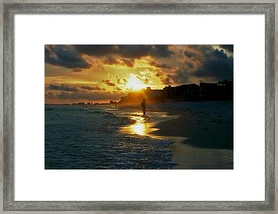 Anticipation At Sunset Framed Print