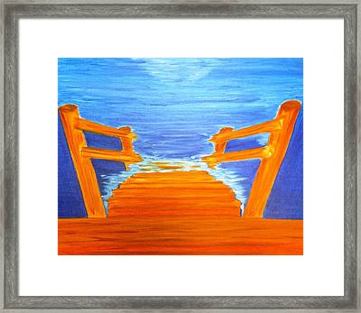 Anticipation Framed Print by Michele Moore