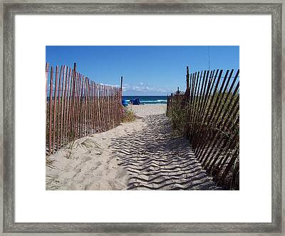 Framed Print featuring the photograph Anticipation by Sheila Silverstein