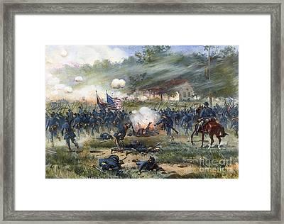 Antietam Campaign, 1862 Framed Print
