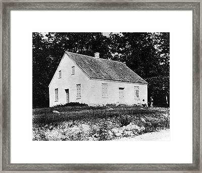 Antietam: Dunker Church Framed Print by Granger