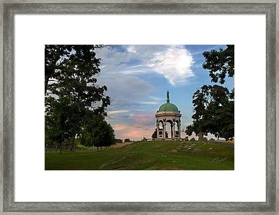 Antietam Maryland State Monument Framed Print by Judi Quelland