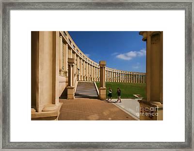 Antigone Montpellier Colour I Framed Print by Jack Torcello