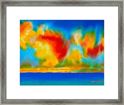 Antigua Framed Print by Daniel Jean-Baptiste