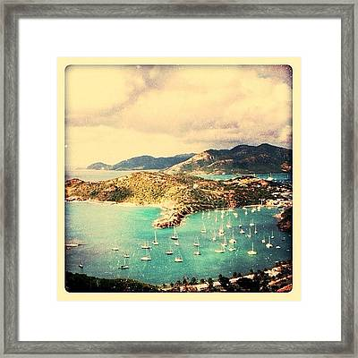 Antigua's Turtle Bay Framed Print
