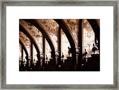 Antiquarian Hall The Residenz Munich Framed Print by Tom Wurl