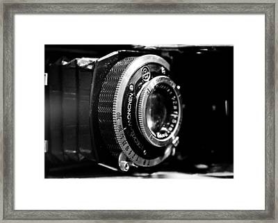 Framed Print featuring the photograph Antique Camera by Edward Myers