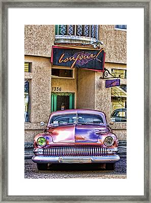 Antique Car Framed Print by Carol Leigh