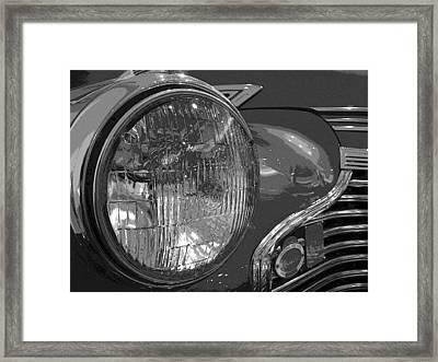 Antique Car Close-up 002 Framed Print by Dorin Adrian Berbier