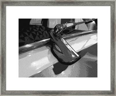 Framed Print featuring the photograph Antique Car Close-up 003 by Dorin Adrian Berbier