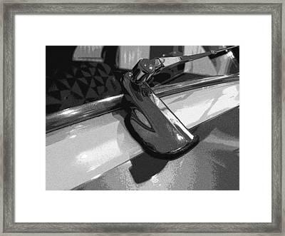 Antique Car Close-up 003 Framed Print by Dorin Adrian Berbier