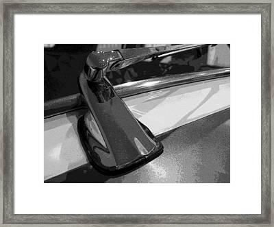 Antique Car Close-up 004 Framed Print by Dorin Adrian Berbier