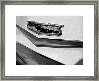 Framed Print featuring the photograph Antique Car Close-up 007 by Dorin Adrian Berbier
