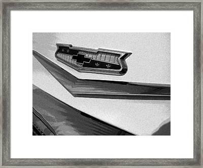 Antique Car Close-up 007 Framed Print by Dorin Adrian Berbier