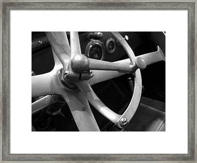 Framed Print featuring the photograph Antique Car Close-up 008 by Dorin Adrian Berbier