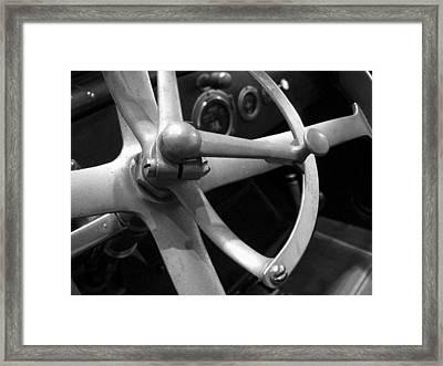 Antique Car Close-up 008 Framed Print by Dorin Adrian Berbier