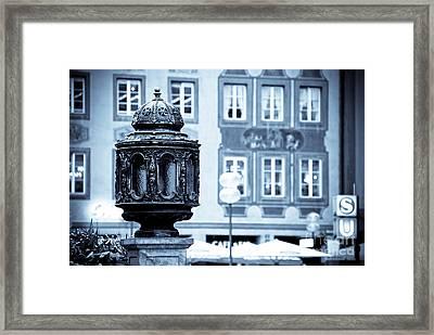 Antique Design Framed Print by Syed Aqueel
