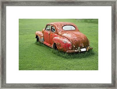 Antique Ford Car 5 Framed Print by Douglas Barnett